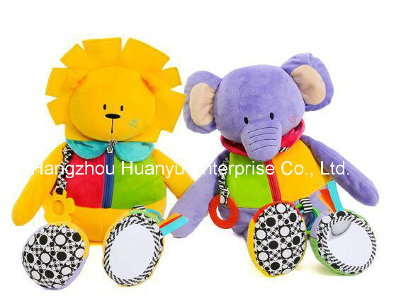 Factory Supply Child Plush Educational Toy