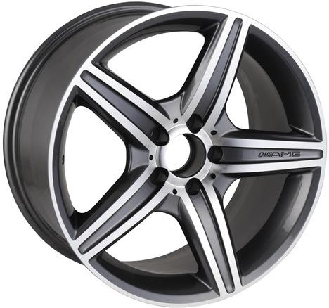 Replica for Mercedes-Benz Alloy Wheel (BK030)