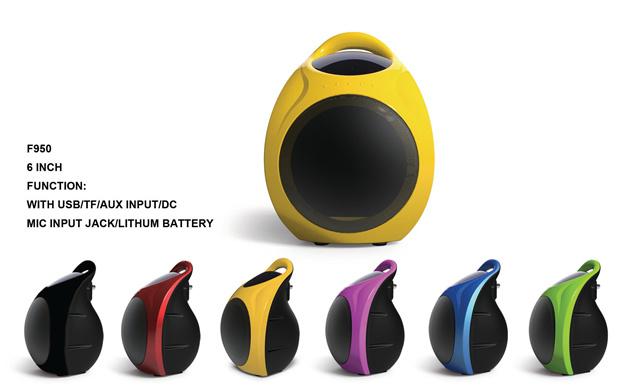 Mini Colorful Portable Speaker F950