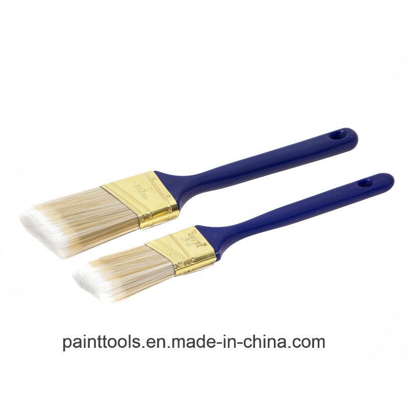 Slanted Brush with Plastic Handle B032