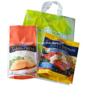 Clear Plastic Food Packing Printing Bags