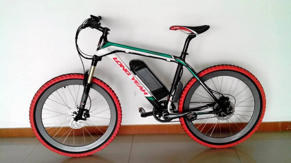 Carbon-Fiber Frame Electric Bike (TDE1401Z)