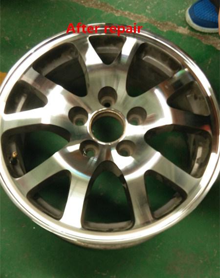 Car Alloy Wheel CNC Lathe Rim Repair Machine Awr2840