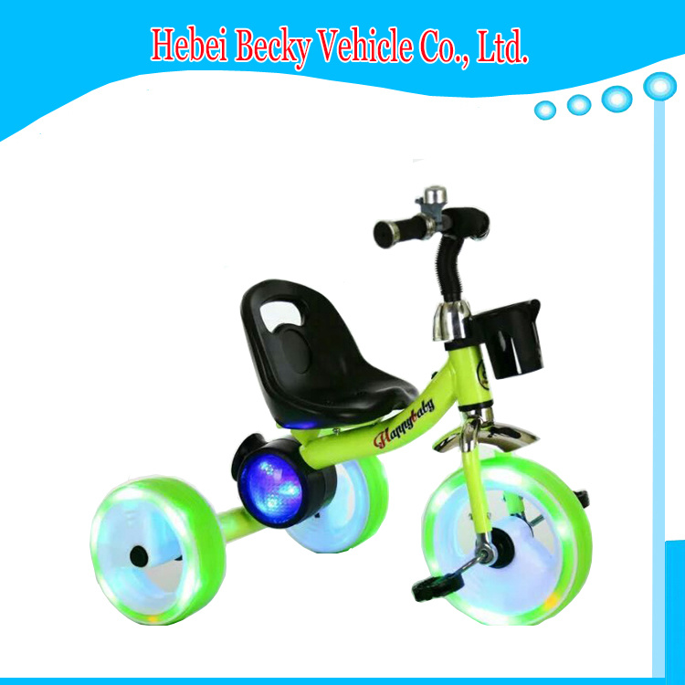 China Baby Kids Tricycle Ride on Toys Three Wheeler Pram with Ce