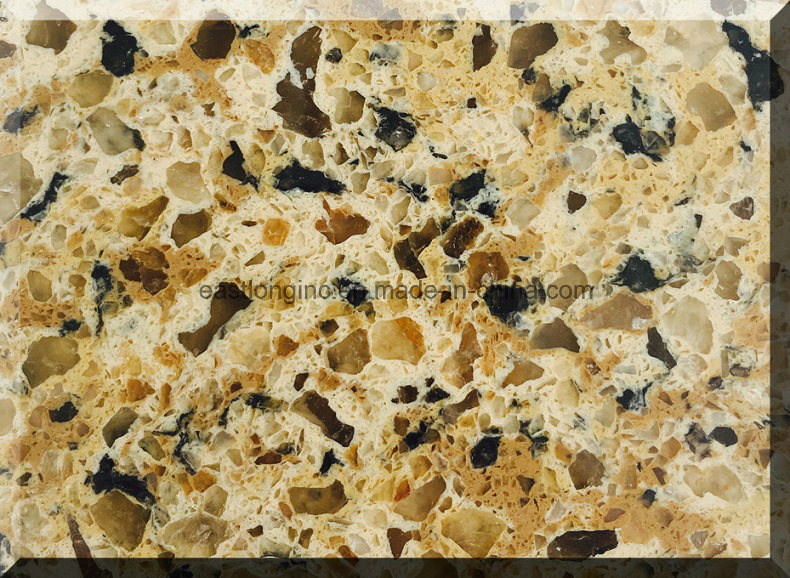 Artificial Quartz Stone for Kitchen Countertop