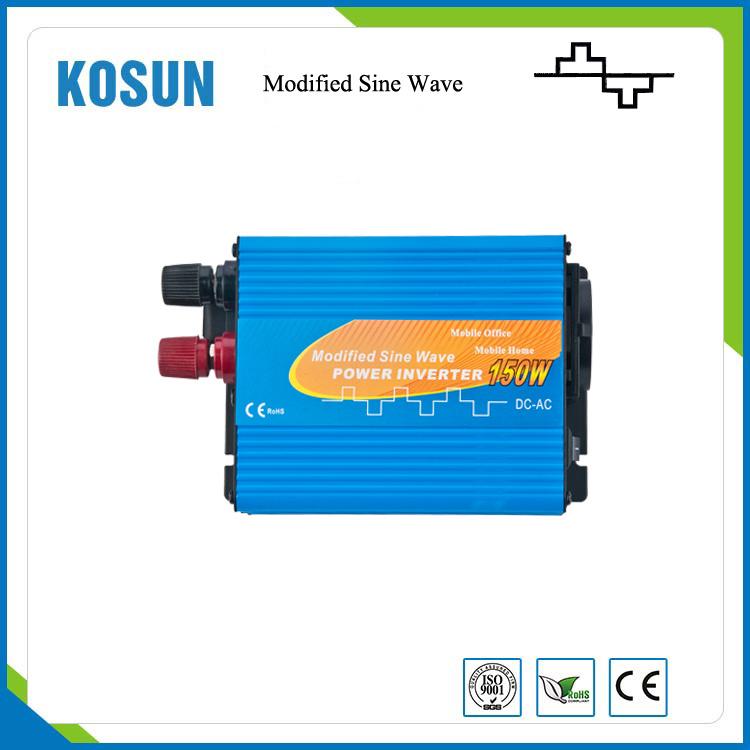 150W Mini Car Power Inverter Modifed Sine Wave Inverter 24V 230V