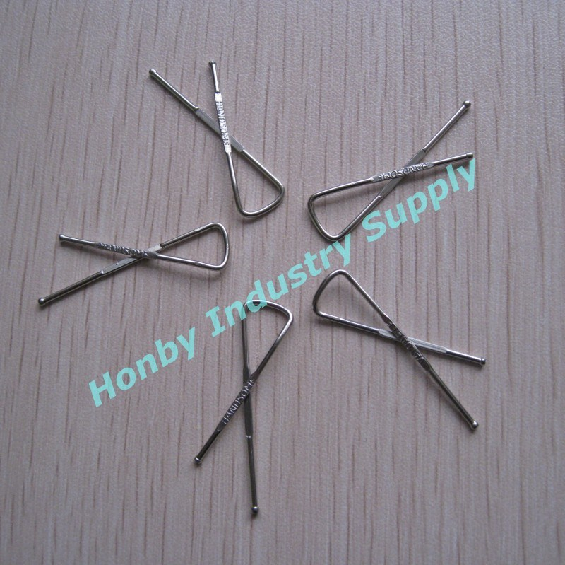 34mm Handsome/Valuable Stainless Steel Metal Shirt Clip