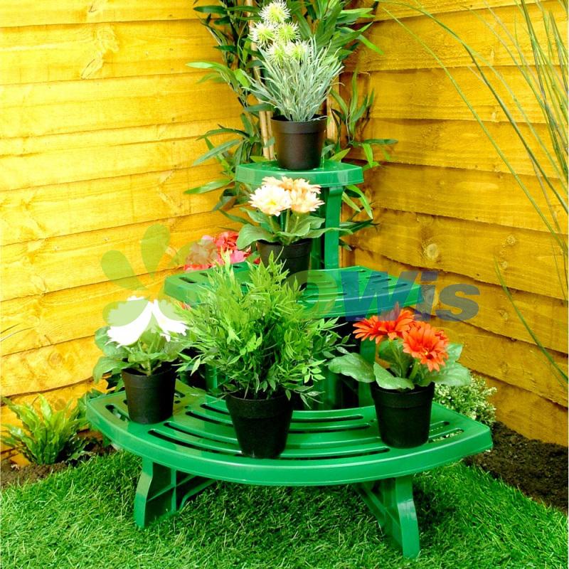 Corner Potted Plant Pot Garden Display