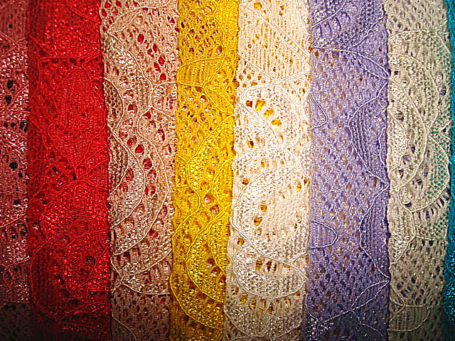 Lace Knitting Fabric