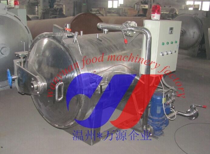 Horizontal Pressure Retort, Autoclave Sterilization