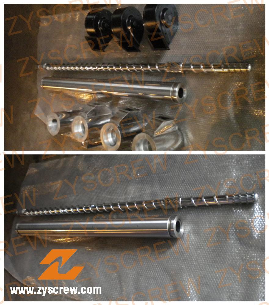 Bimetallic Single Screw for Blowing Moulding Machine/ Extruder (Dia15-300mm)