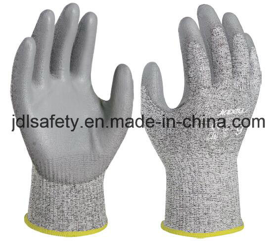 Anti-Cut Work Glove with PU Coating (PD8045)