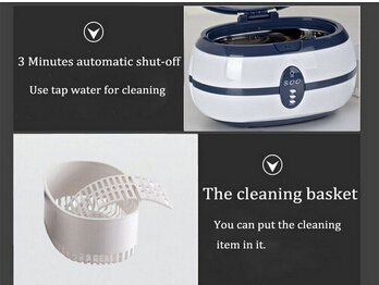 Ultrasonic Cleaner with Cleaning Basket
