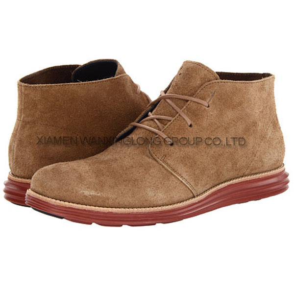 Leather Men Casual Shoes Dress Shoes Boot Leather Shoes (D13066