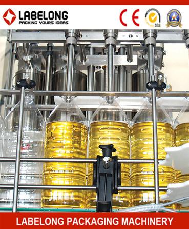 3000bph Automatic Bottle Filling Machine for Peanut Oil