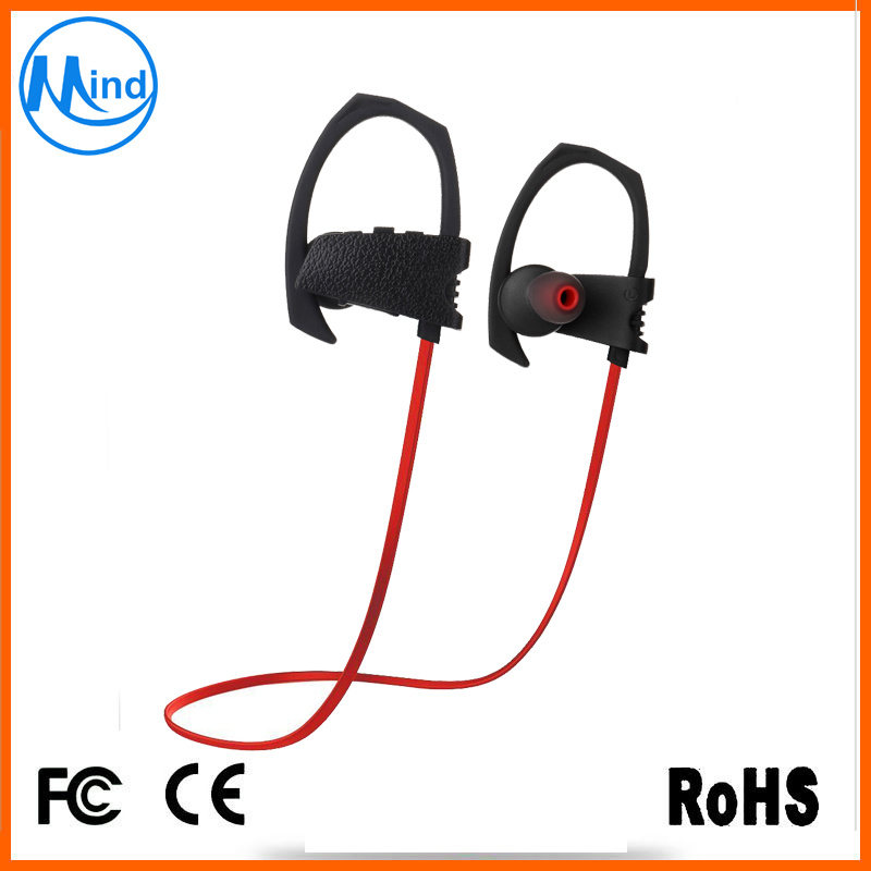 Ipx7 Waterproof Bluetooth Wireless Earphone Neckband Earpiece for Sports Running