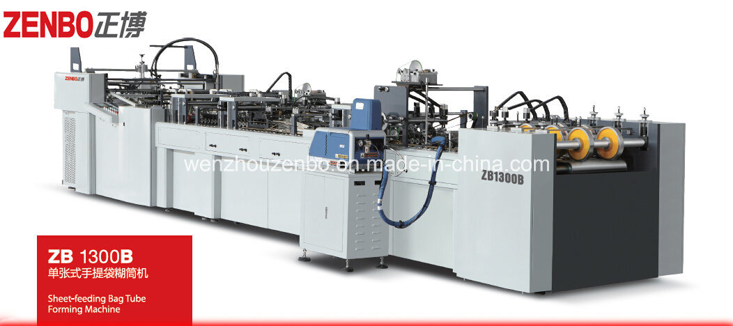 Semi Automatic Paper Tube Forming Machine with Cheap Price Good Quality Zb1300b