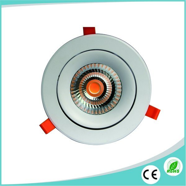 40W Recessed CREE COB LED Spotlight/Downlight for LED Commercial Lighting