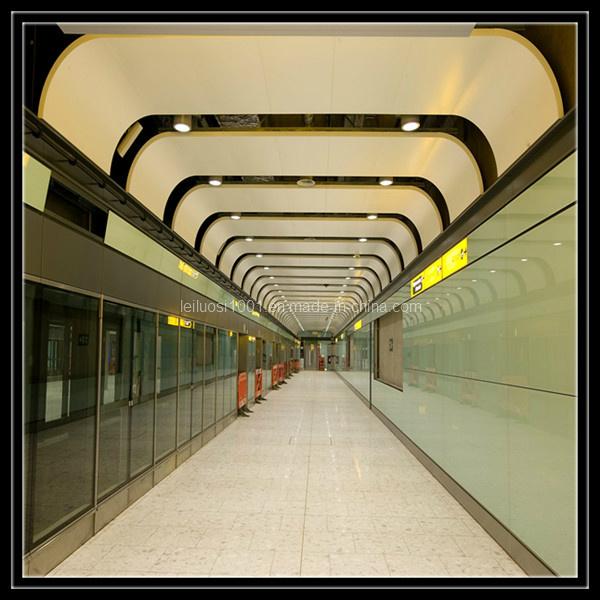 Corridor Design Ceiling: China Customized Aluminum Curved Ceiling For The Corridor