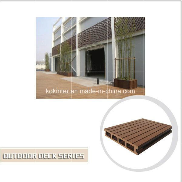 Outdoor Wood Plastic Composite Decking WPC Flooring