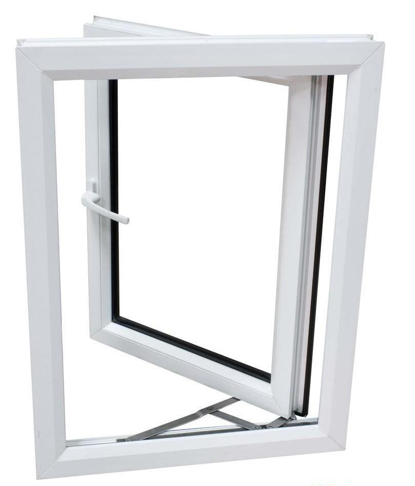 White UPVC Profiles for Windows and Doors