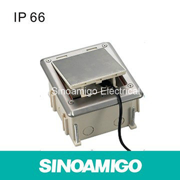 Stainless Steel Floor Outlet Siemon Home Cabling System