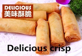 HACCP Brc Certifacte Tsingtao Vegetable 40g/piece Spring Rolls in Frozen Cookin