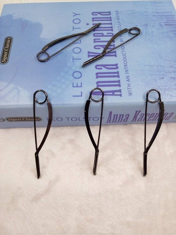 Duckbill Metal Pins; Sweater/Shawl Safety-Pin