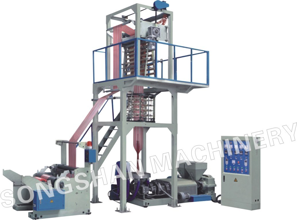 Double Color Strip Film Extruder