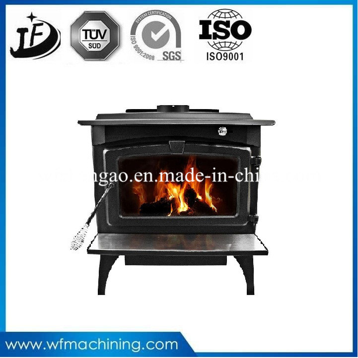 Customized Iron Casting European Style Electric/Gas Fireplace Used in Winter