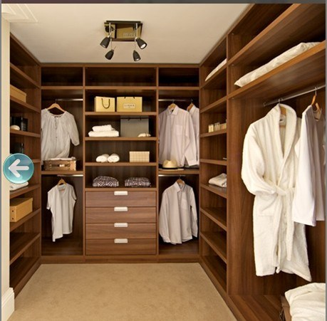 Zhihua High Quality Custom Made Bedroom Wardrobe (S-05)