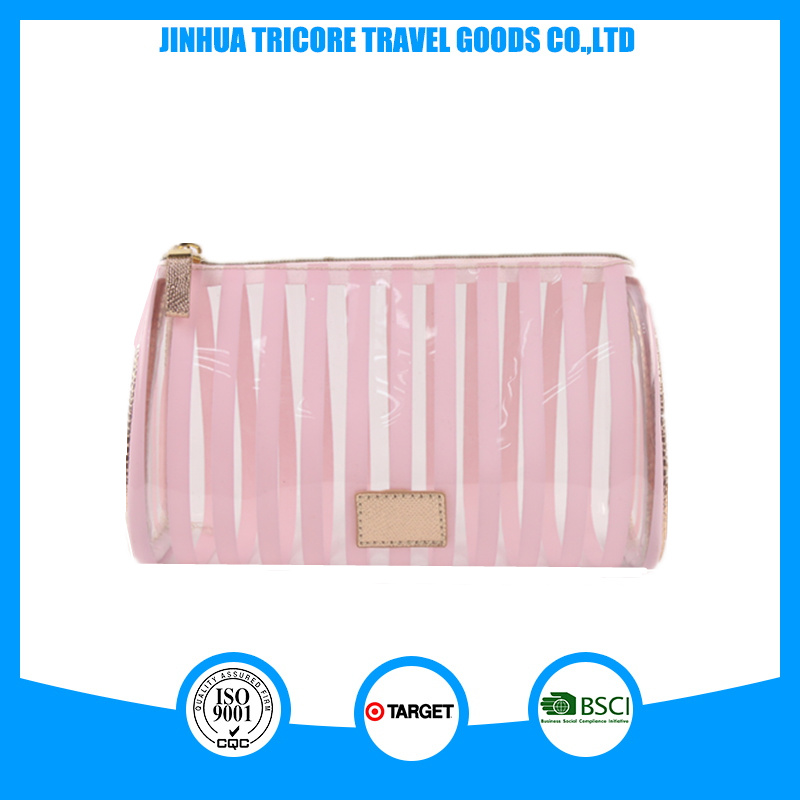 Hot Sale Make-up Water Drop Shape PVC Cosmetic Bag