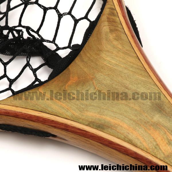 Fly Fishing Wooden Landing Net