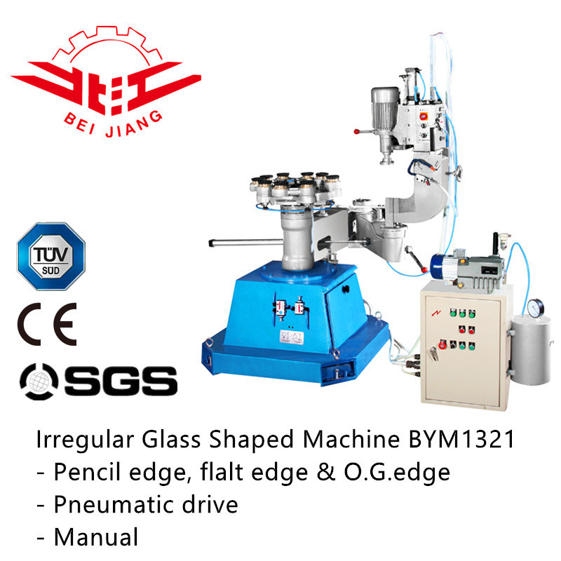 Irregular Glass Shaped Machine (Bym1321)