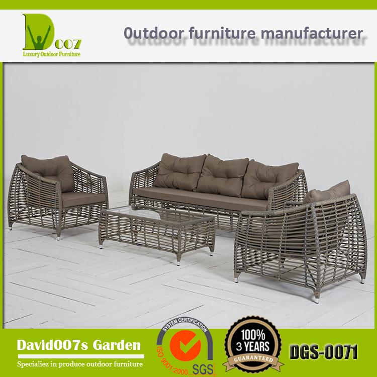Wholesale Outdoor Furniture Sectional Sofa, Dgs-0071 Furniture Sofa Set