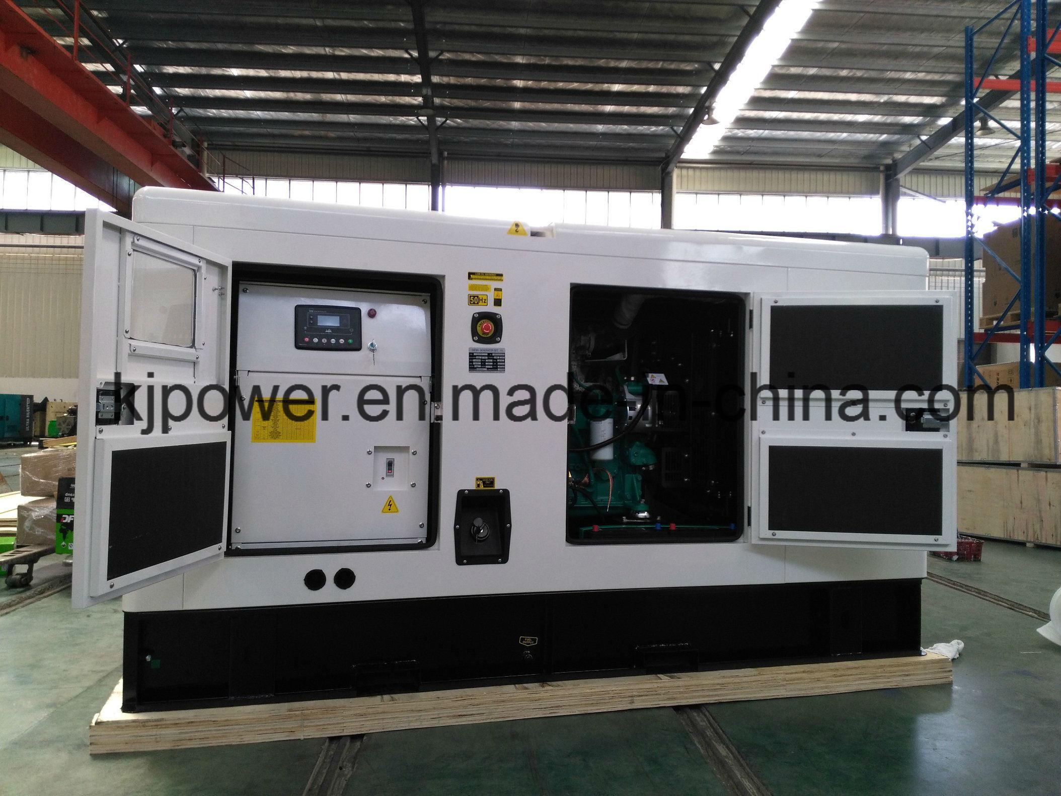 China Silent Diesel Generator with Cummins Engine 25kVA 250kVA