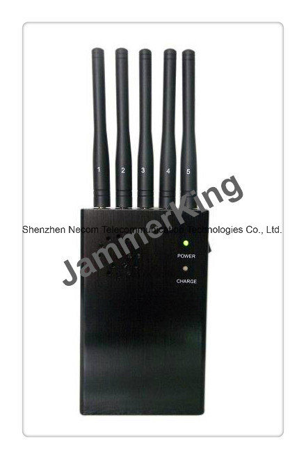 China Manufacturer Offer Cheap Mobile Phone Blocker, 5 Bands Mini Portable Cellphone Signal Jammer (CDMA/GSM/DCS/PHS/3G) Cellphone GPS Signal Jammer/Blocker - China 5 Band Signal Blockers, Five Antennas Jammers