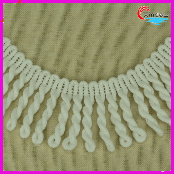 6cm Cotton Fringe for Home Decoration