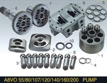 Rexroth Piston Pump Engines Parts A8vo55 Hydraulic Plunger Pump Spare Parts
