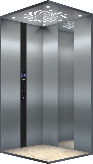 Bsdun Glass Residential Elevator for Home
