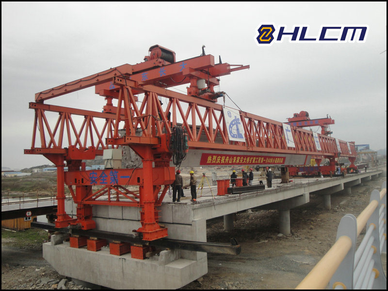 Precast Girder Launching Gantry for Bridge Construction (HLCM-7)