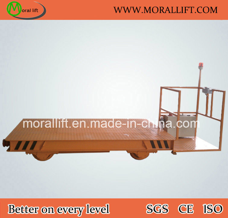 Heavy Loading Rail Material Transfer Flat cart