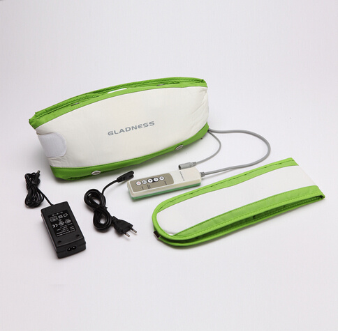 Portable Electric Slimming Massage Belt / Vibrating Body Slimming Belt