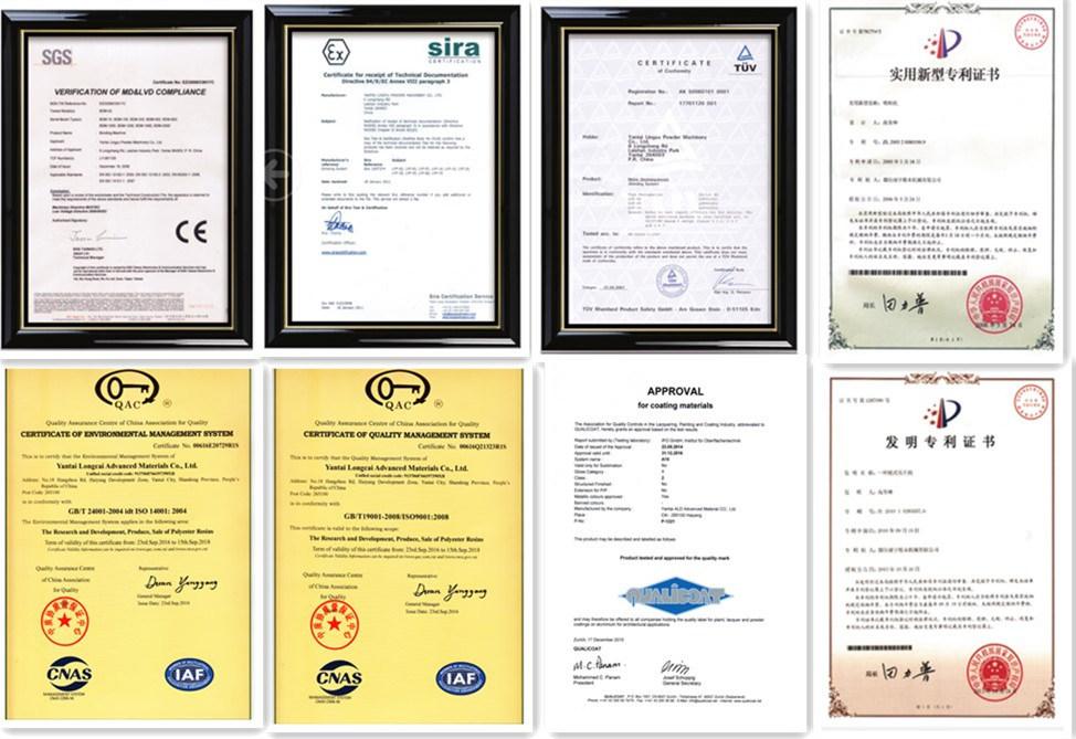 P05t70168m China Manufacturer Quality Epoxy Polyester Metallic Texture Powder Coating