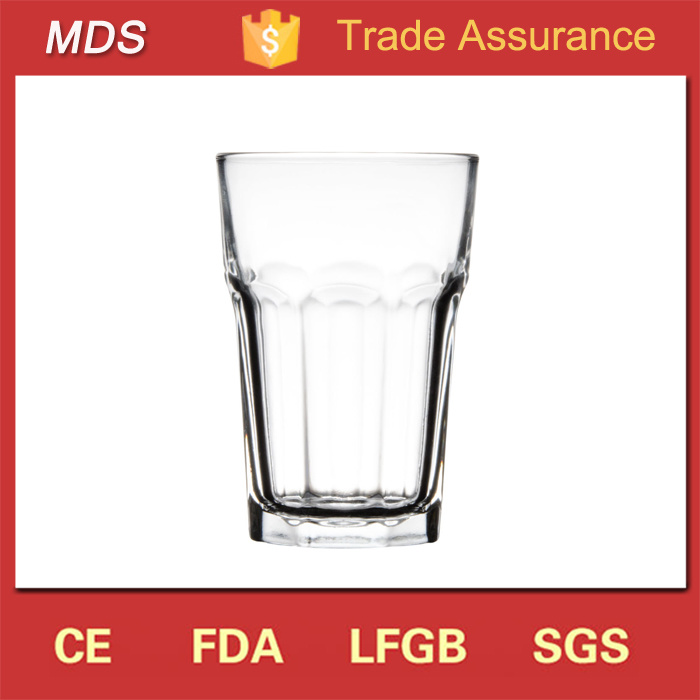Clear Hot Sale 14oz Rock Restaurant High Quality Drinking Glass