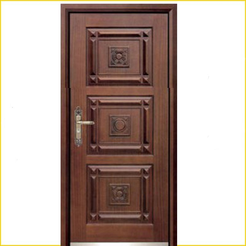 China steel security wooden armored main door bg a9030 for Latest main door