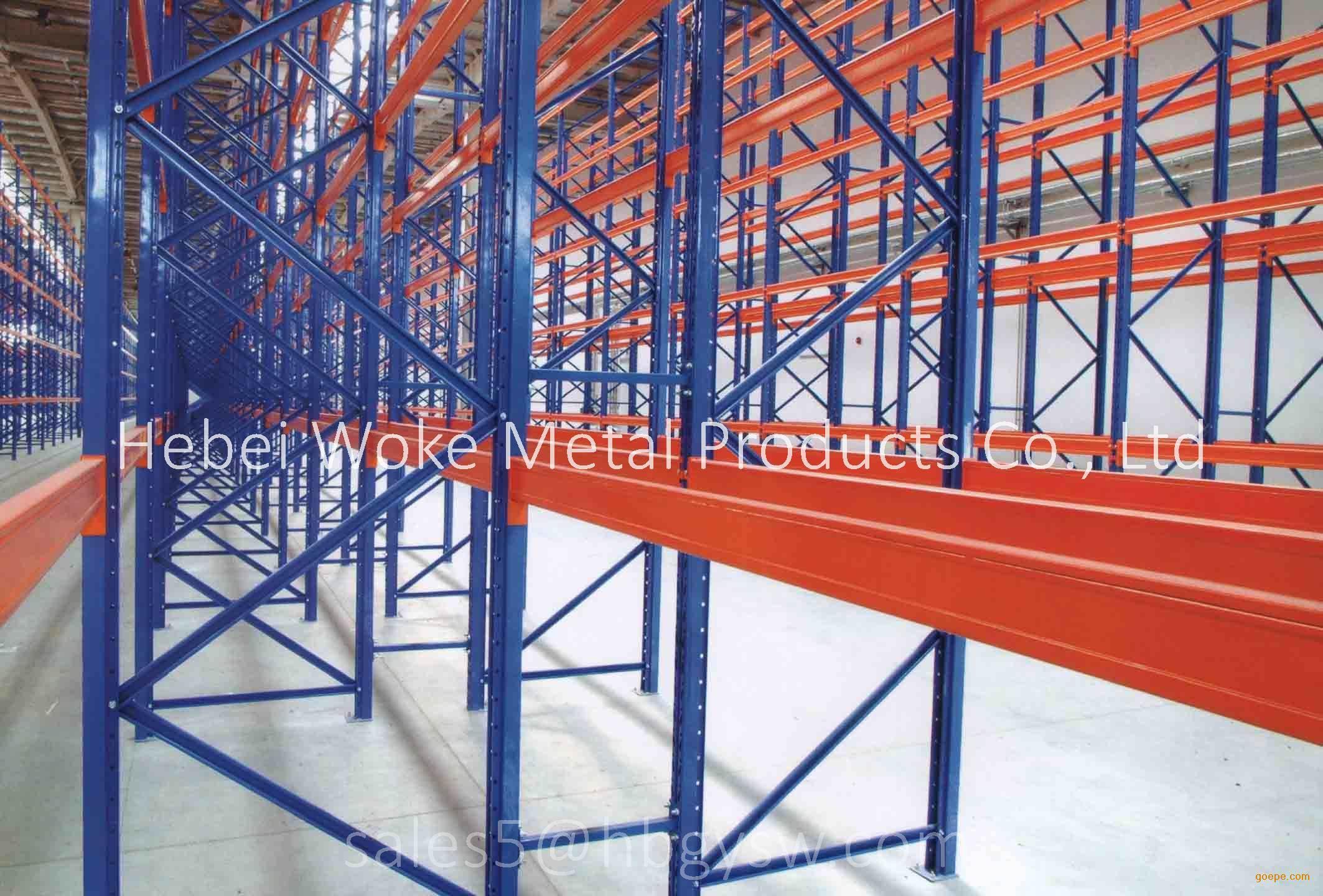 SGS Certificate Heavy Duty Pallet Rack