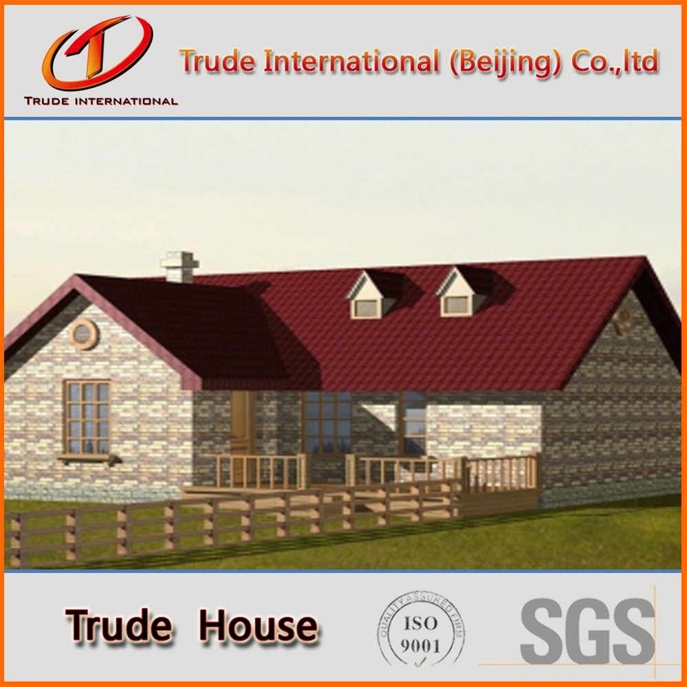 Fast Installation Modular Building/Mobile/Prefab/Prefabricated Steel Private Family House