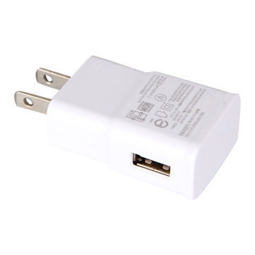 5V 1A USB Travel Charger, AC/DC Adapter