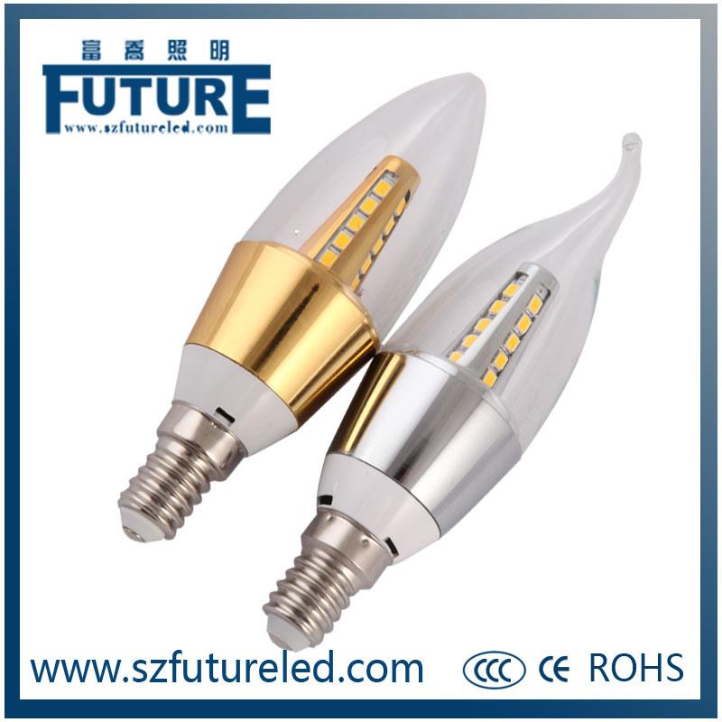 3W E27/E14 Wholesale LED Candle Light with CE RoHS